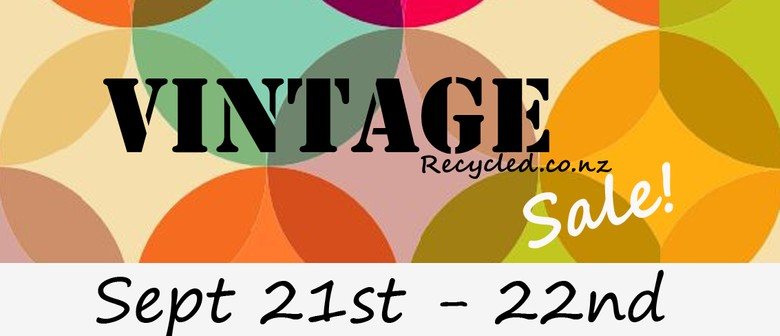 Vintage Recycled Spring Sale