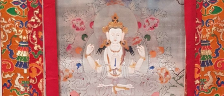 Here Is the Mountain: Tibetan Thangka