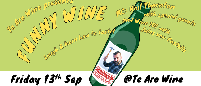 Funny Wine - A Comedy Wine Tasting