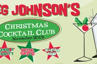 Image for event: Greg Johnson's Christmas Cocktail Club