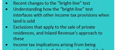 Seminar - Tax and Land Transactions