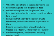 Image for event: Seminar - Tax and Land Transactions