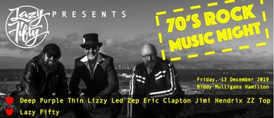 Lazy Fifty presents - 70s Rock Music
