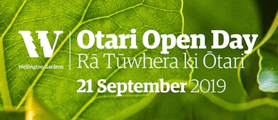 Conservation Week - Otari Open Day