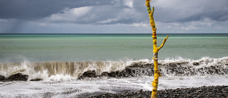 Beached Forest; Interactive Art Installation by Susan Mabin