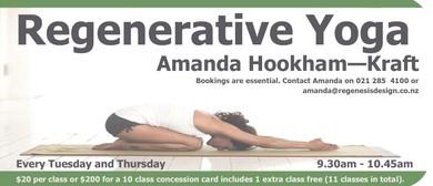 Regenerative Yoga