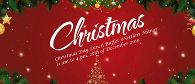 Christmas Day Lunch Buffet 2019 at Settlers Country Manor