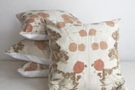 Image for event: Eco Printed Wool Cushion Cover - Handmade Xmas