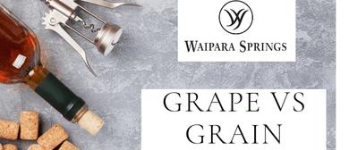 Grape vs Grain Evening: Food, Wine & Beer Match