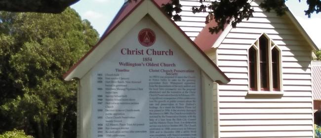 Christ Church Tour - Christ Church Preservation Society