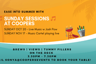 Image for event: Ease Into Summer Sunday Sessions