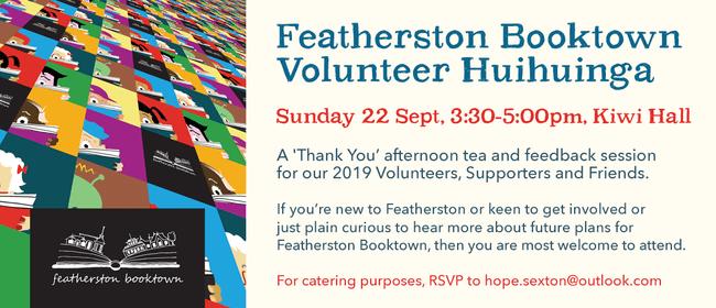 Featherston Booktown Volunteer Huihuinga Thank You Party