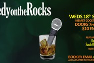 Image for event: Comedy On the Rocks September