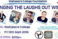 Image for event: Waitakere College Foundation Bringing the Laughs Out West!