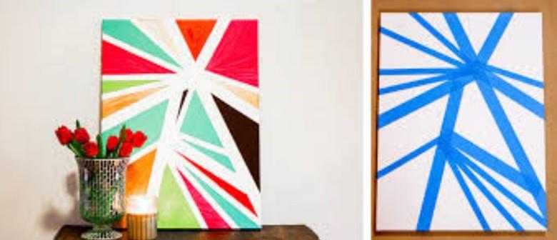 School Holiday Programme - Geometric Art