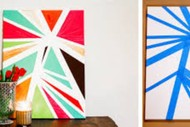 School Holiday Programme - Geometric Art