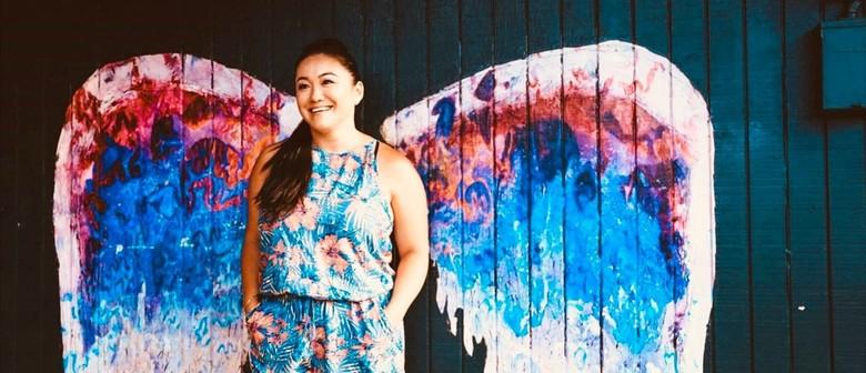 Paint It Positive - Street Art Angel Wings