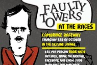 Image for event: Faulty Towers at the Races