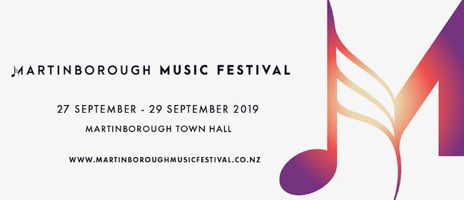 Martinborough Music Festival 2019