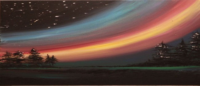 Paint & Chill Night - Aurora Australis