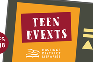 Teen Painting with Library Li
