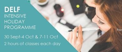 DELF Preparation Programme - October