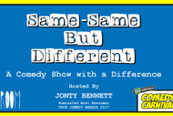 Image for event: Same-Same but Different - Comedy Carnival 2019