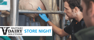 Waitaki Dairy Solutions Store Night
