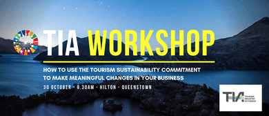 TIA Tourism Workshop - Queenstown