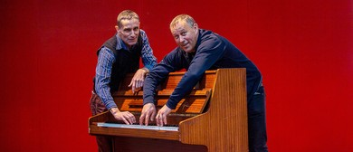 Two Jazz Pianists At Two Pianos