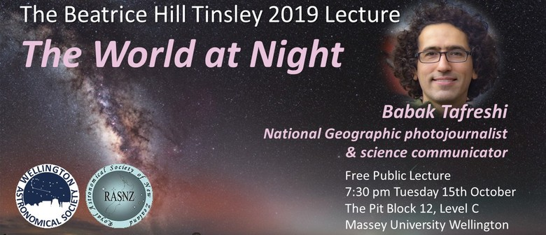 The World at Night - Beatrice Hill Tinsley Lecture 2019