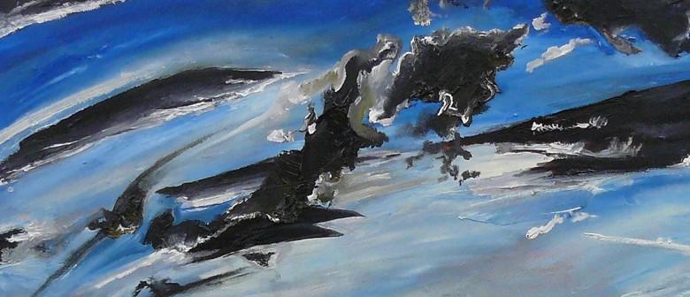 Rangi Matahauariki: Paintings by Joanna Tokona