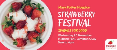 Mary Potter Hospice Strawberry Festival