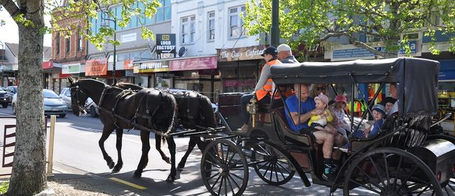 Onehunga Heritage Festival: Horse & Carriage Rides