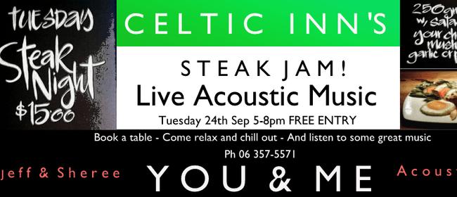 Celtic Inn's Steak Jam Night ft You & Me