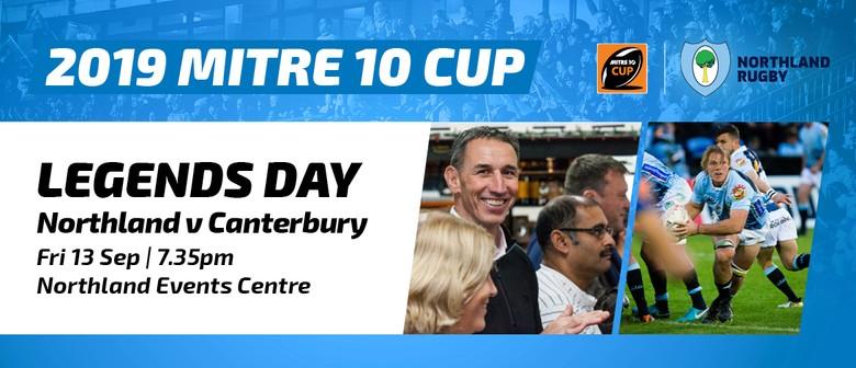 Mitre 10 Cup - Northland vs Canterbury