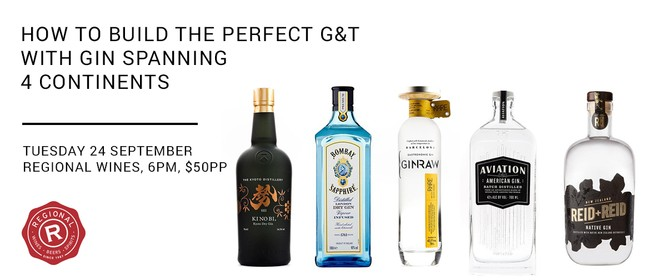 How to Build the Perfect G&T with Gin Spanning 4 Continents
