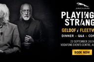 Image for event: Jaguar Playing it Strange, Geldof v Fleetwood