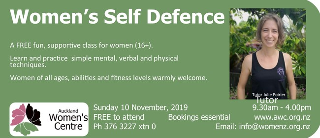 Women's Self Defence: SOLD OUT