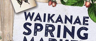 Waikanae Spring Market 2019