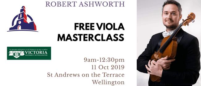 100 Years Journey - Viola Masterclass with Robert Ashworth