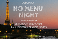 Image for event: Colombo No Menu Night