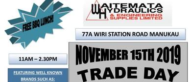 Waitemata Hydraulics Manukau Trade Day 2019