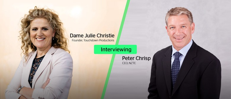 Live Interview with Peter Chrisp and Dame Julie Christie