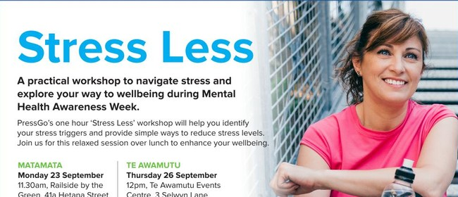 Stress Less Workshop - Matamata