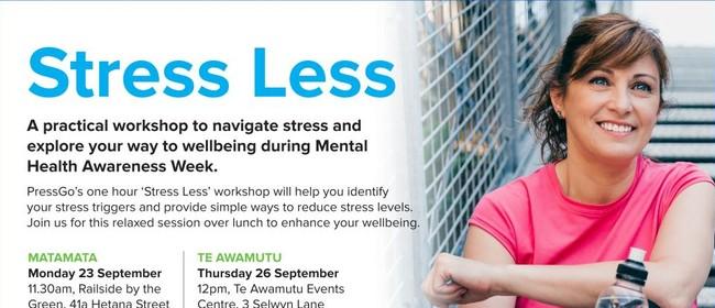 Stress Less Workshop - Hamilton