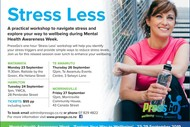 Image for event: Stress Less Workshop - Taupo