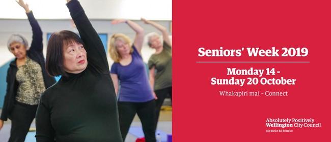 Seniors' Week: Feldenkrais with Sue Field