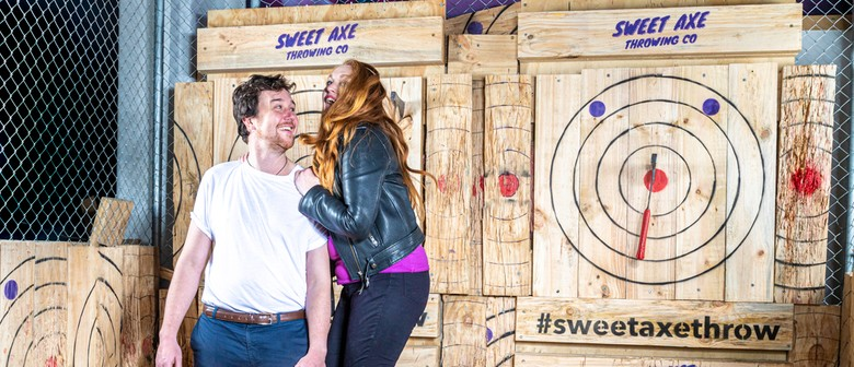 Halloween Date Night: Axe Throwing
