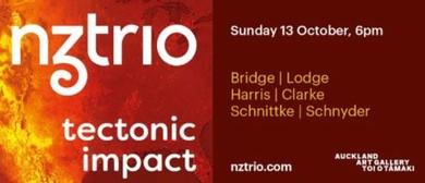 Tectonic Impact - NZTrio